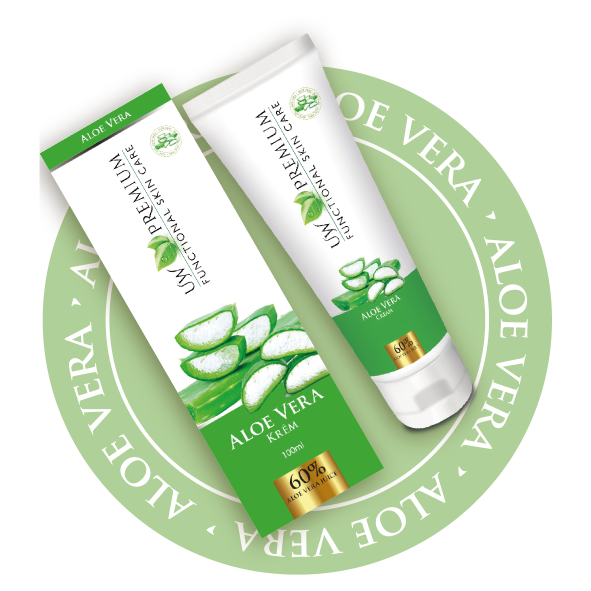 UW Premium Aloe vera krém