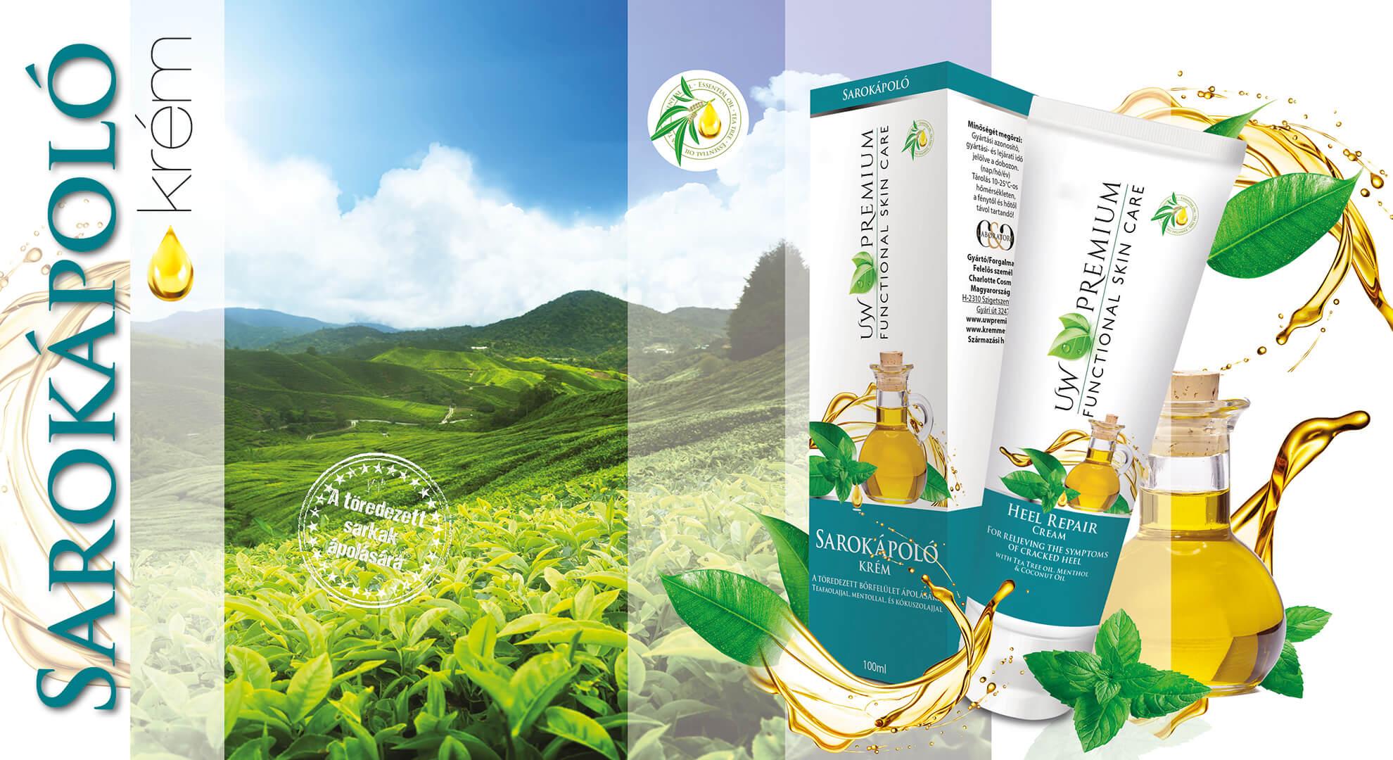 UW Premium sarokápoló teafaolajjal